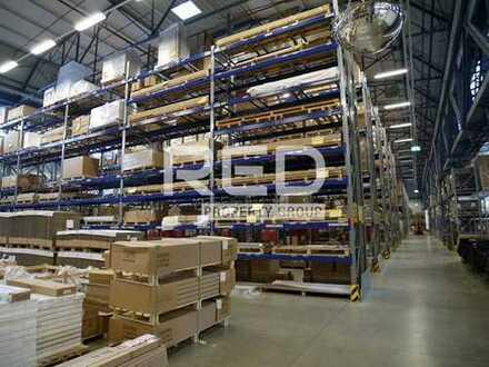 Lager-/Produktionshalle - 10,80 m hoch - Starkstrom