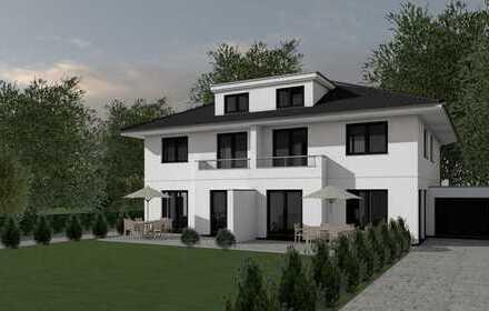 SCHWACHHAUSEN - Neubau eines modernen Doppelhauses in zentraler Lage