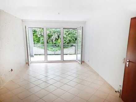 2 Zimmer WHG -I.OG Hochparterre – Balkon & Gartenanteil – sofort frei - Kirchheim