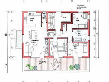 4 1/2-Zimmer Penthouse-Wohnung - Neubau mit Aufzug - Großer Balkon mit Südlage und Fernsicht