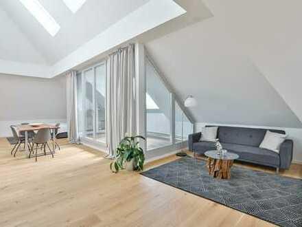 Offen gestaltete Traumwohnung mit zwei Terrassen (inkl. kompletter Einrichtung)