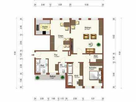 Sehr schöne Wohnung 4 Zimmer Wohnung