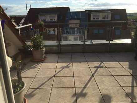 Exklusive Dachgeschosswohnung im Maisonettenstil