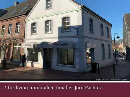Denkmalgeschütztes Wohn- und Geschäftshaus inmitten des idyllischen Ortskerns von Schermbeck!