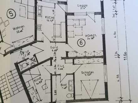 Stilvolle, gepflegte 3-Zimmer-Wohnung mit Balkon und EBK in Donaueschingen