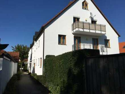 Gepflegte 2-Zimmer-Wohnung mit Balkon in kleiner Wohnanlage in Hallbergmoos OT Goldach