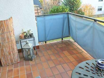 Mit gemütlichem Balkon ** 2-Zimmer-ETW in Roßdorf
