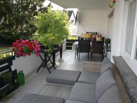 Helle charmante Wohnung in Grötzingen in grüner Oase