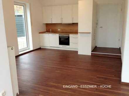 Erstbezug nach Sanierung: attraktive 4-Zimmer-Erdgeschosswohnung mit Einbauküche in Kelheim (Kreis)