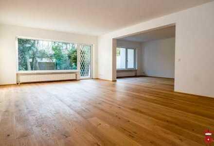 150m² Wohnung mit eigenem großen Garten in Harlaching (Menterschwaige) zu vermieten