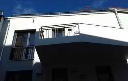 Erstbezug: exklusive 3-Zi-Wohnung, moderne EBK, Wohnloft, West-Balkon in Augsburg, Domviertel