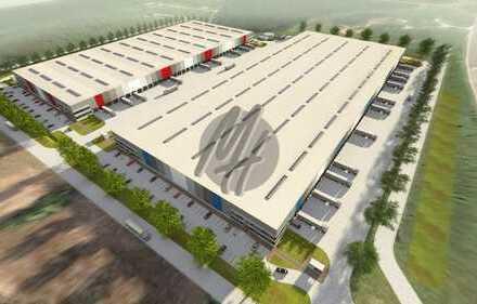 KEINE PROVISION ✓ NEUBAU ✓ Lager-/Logistik (7.500 m²) & Büro (300-2.000 m²) zu vermieten