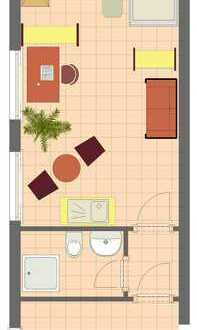 Appartement Nähe Uni/Technologiepark/Indupark