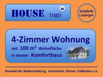 4-Zimmer Wohnung in unserem meist gebauten Haus - solide - gemütlich