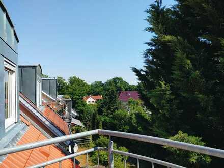 Exklusive 2-Zimmer-Dachgeschosswohnung mit Dachterasse in Zeuthen-Miersdorf