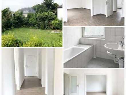 **GARTENSTADT-Gartenwohnung mit 3,5 -4 Zimmern, Terrasse, Balkon & Wohnküche**