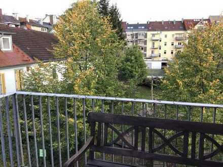 Südstadt-Reihenhäuschen im Grünen, ruhig, charmant, 3 Balkone und Dachterrassen
