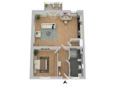 Neubau mit Seeblick! KfW55 ! Was für eine schöne 2 -Zimmer Wohnung...