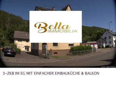 ~~3-ZKB IM ERDGESCHOSS MIT EINFACHER EBK & BALKON & PKW-STELLPLATZ!!!~~INTERESSIERT?!?