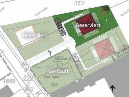 ORTSRANDLGE Baugrundstück für eine DHH oder Villa in Mauchenheim bei Alzey!