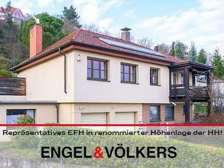Repräsentatives Einfamilienhaus in renommierter Höhenlage der Hambacher Höhe!