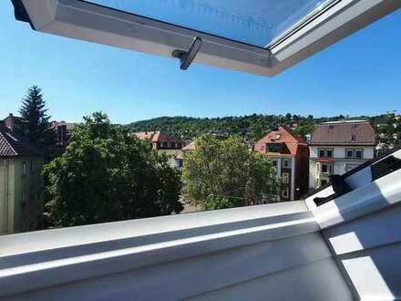 Wunderschöne helle 3 Zimmer Wohnung (1Zimmer mit 18qm frei) in Heslach (Süd)