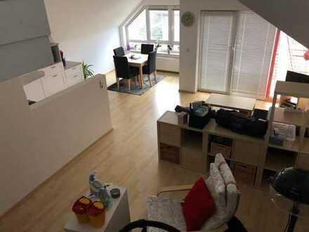 Traumhafte Galerie Wohnung. Individuelles Wohnen im Herzen von Linkenheim- Hochstetten