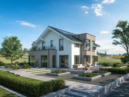 Bauprojekt mit 4 Häuser inkl. Grundstücke von 360 qm - 580 qm unweit der großen Kreisstadt Aalen