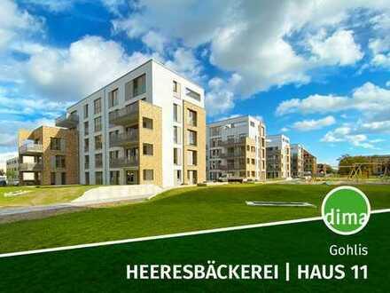 ERSTBEZUG | NEUBAU | Heeresbäckerei | Haus 11 | Terrasse | Balkon | 2 Bäder | HWR | 2 TG-Stellplätze