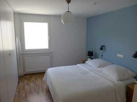 Für zwei Jahre: Wunderschöne helle 3-Zi-Wohnung mit Terrasse, Garten und Einbauküche in Knittlingen