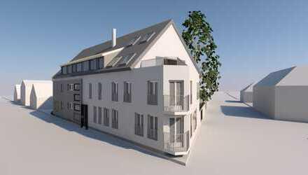 Moderne, helle, 2-Zimmer-Erdgeschosswohnung mit Einbauküche und Balkon in Daxlanden
