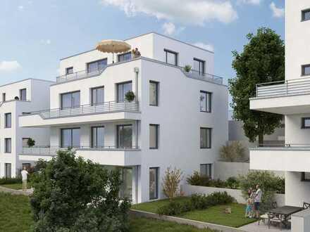 Exklusive 3 ZKB Neubauwohnung in Ziegelhausen mit Aufzug und Dachterrasse