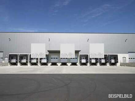 Provisionsfrei - Projektierte Logistikanlage in direkter Autobahnnähe