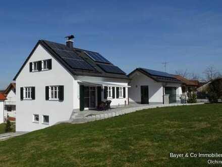 Traumhafte Aussicht(en) - elegantes und luxuriöses Einfamilienhaus im Grünen