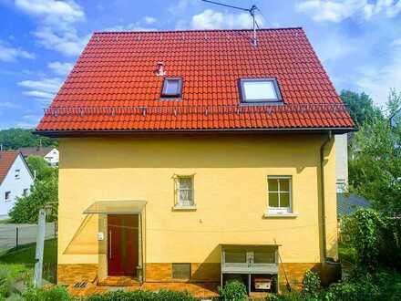 Modernisiertes 5-Zimmer freistehendes Einfamilienhaus in Reutlingen-Sondelfingen, von Privat.