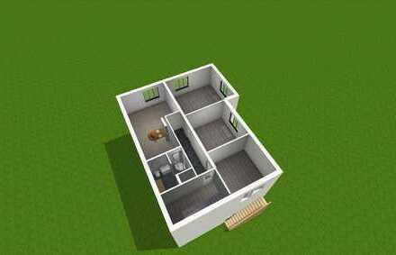 ERSTBEZUG NACH HOCHWERTIGER MODERNISIERUNG DG Wohnung mit Balkon und Garten