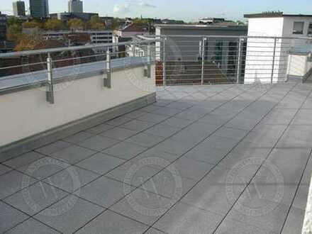 Über den Dächern von Dortmund! Penthousewohnung mit herrlicher Terrasse und Aufzug!