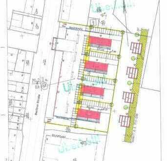 Grundstücke für 4 Mehrfamilienhäuser