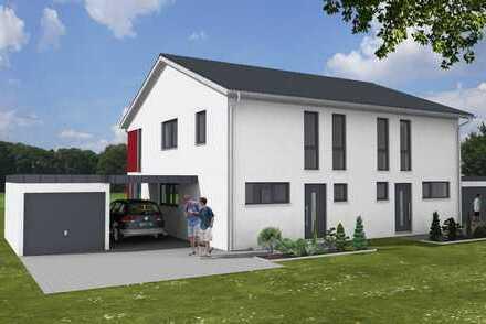 Schlüsselfertige Doppelhaushälften in ruhigem Wohngebiet von Schmidgaden
