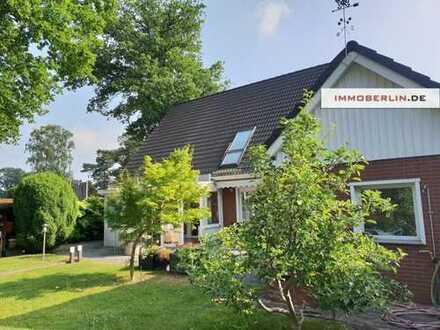 IMMOBERLIN: Optimal positioniert! Schönes Einfamilienhaus mit Südwestgarten