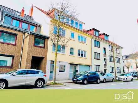 Renovierungsbedürftige Erdgeschosswohnung in wachsendem Hemelingen
