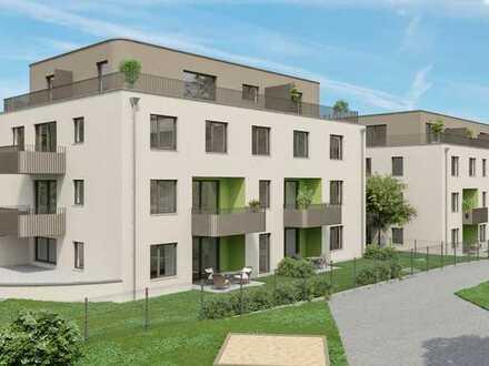 Exklusive Wohnung über zwei Etagen mit Dachterrasse.