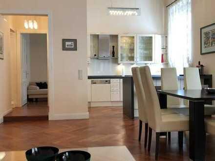 ALTSTADT-LEHEL: Exklusive 3-Zimmer-Altbauwohnung