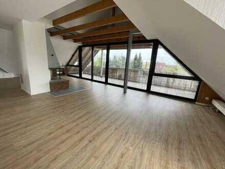3-Zimmer-Dachgeschosswohnung mit Balkon in Offenbach am Main/Bürgel zu vermieten