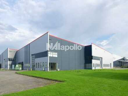 IM CO-ALLEINAUFTRAG | PROVISIONSFREI | ca. 20.000 m² Neubau-Logistikfläche | teilbar | Bezug 2020