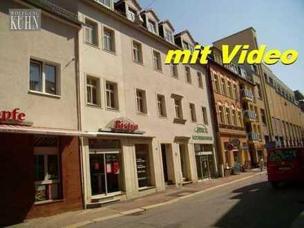 Wohnen im Zentrum, große 2-Raumwohnung mit Balkon