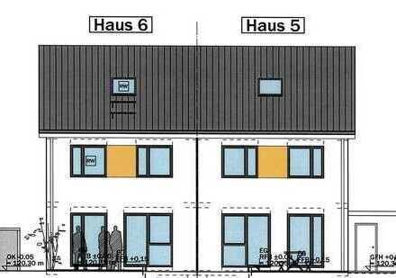 Ein Heim für die Familie! Projektierte DHH in Rastatt-Rauental.