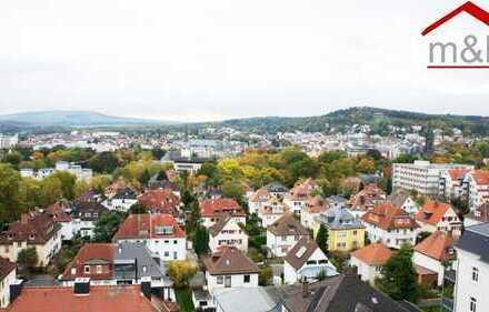 Bad Nauheim: 1-Zimmer-Wohnung in zentraler Lage und wunderschönem Weitblick