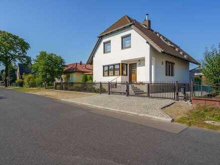 Gepflegtes Einfamilienhaus auf großem Grundstück unweit der Spree