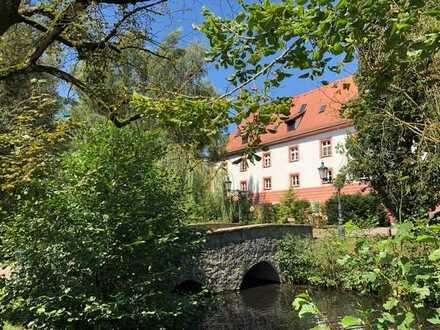 Charmante 4-Zimmer-Wohnung mit Garten in Schloss bei Regensburg